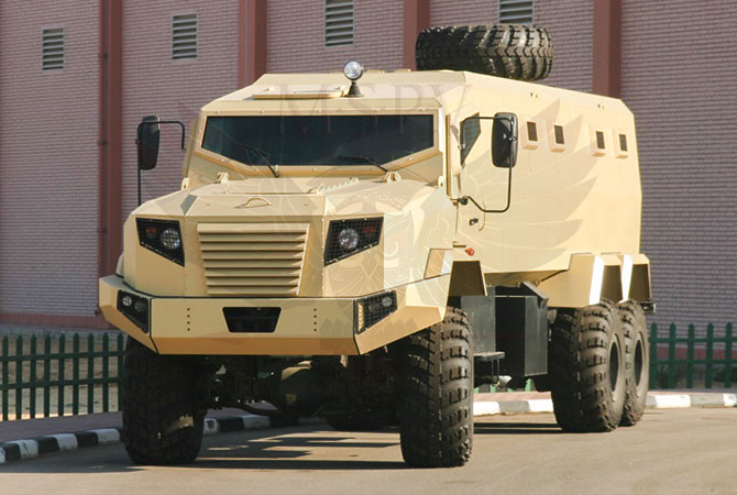 Armoured Personnel Carrier Morocco - panthera-6x6-krazz