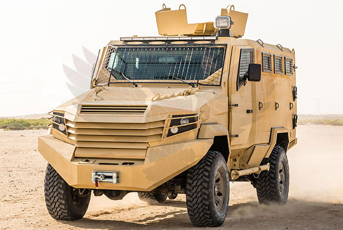 Armoured Personnel Carrier Morocco - panthera-n6
