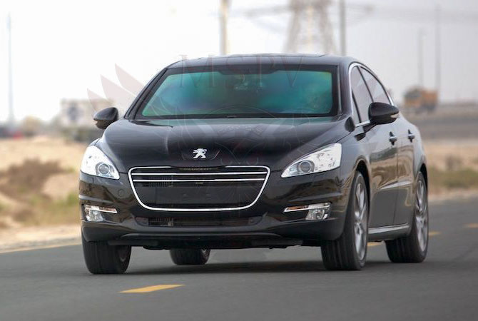 Armoured Cars Morocco - Peugeot 508