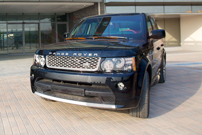 Armoured SUV Morocco - Range Rover Sport