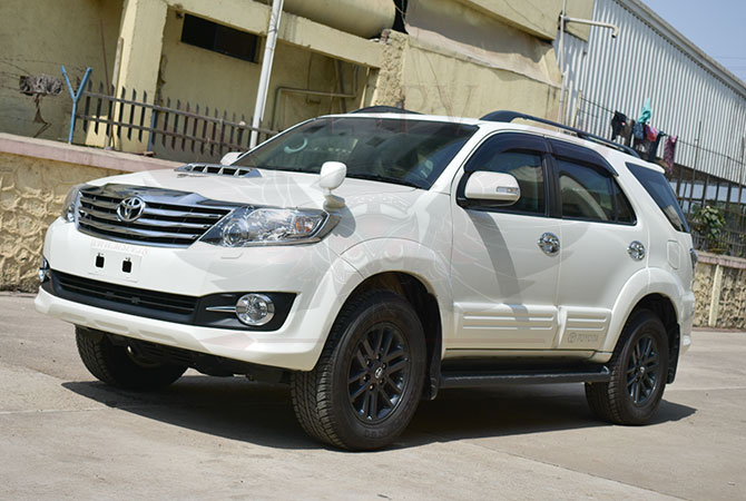 Armoured SUV Morocco - Toyota Fortuner