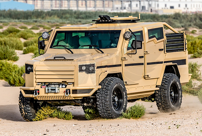 Armoured Patrol Vehicles Morocco - Panthera T2V8