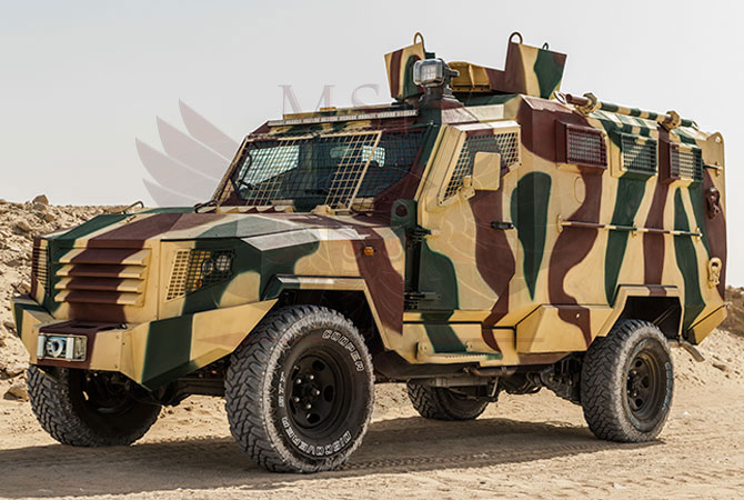Armoured Personnel Carrier Morocco - panthera-t6-3dr