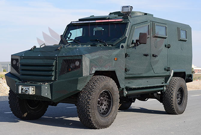 Armoured Patrol Vehicle Morocco - panthera-t6-5Dr