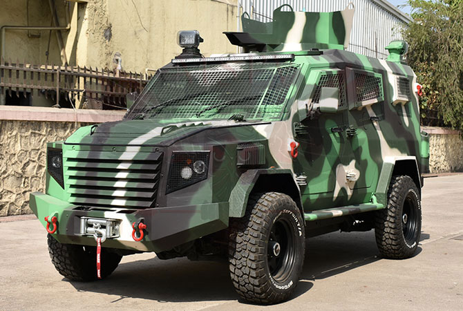 Armoured Personnel Carrier Morocco - Panthera T6F