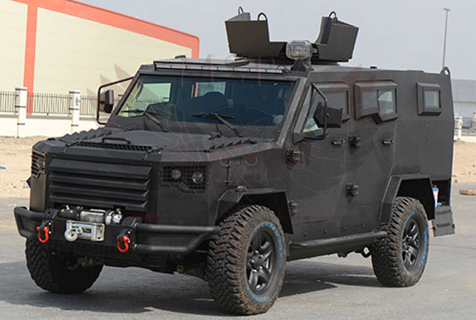 Armoured Patrol Vehicle Morocco - panthera-t6-v8