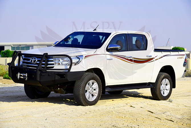 Armoured Pickup Morocco - Toyota Hilux