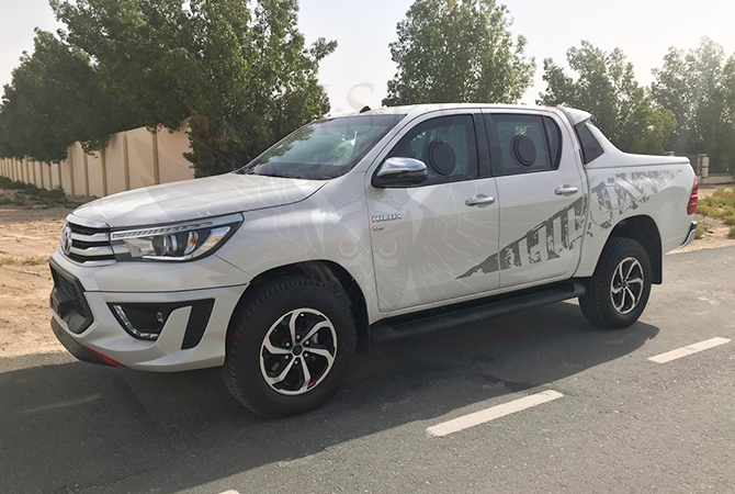 Armoured Pickup Morocco - Toyota Hilux 2019 TRD