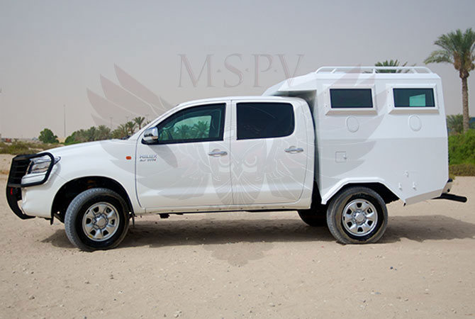 Armoured Troop Carrier Morocco - Toyota Hilux