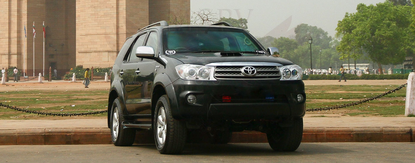 Bulletproof SUV Morocco - Toyota Fortuner