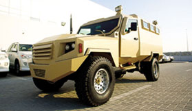 Armoured Miliatry Vehicle Morocco